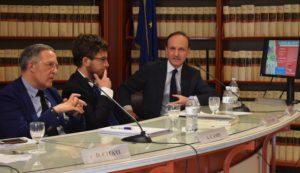 Guglielmo Picchi con Alessandro Campi e Diego Fusaro