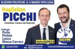 Volantino elettorale Picchi 2018